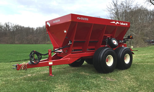 ground drive spreader