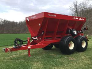 ground drive lime fertilizer spreader